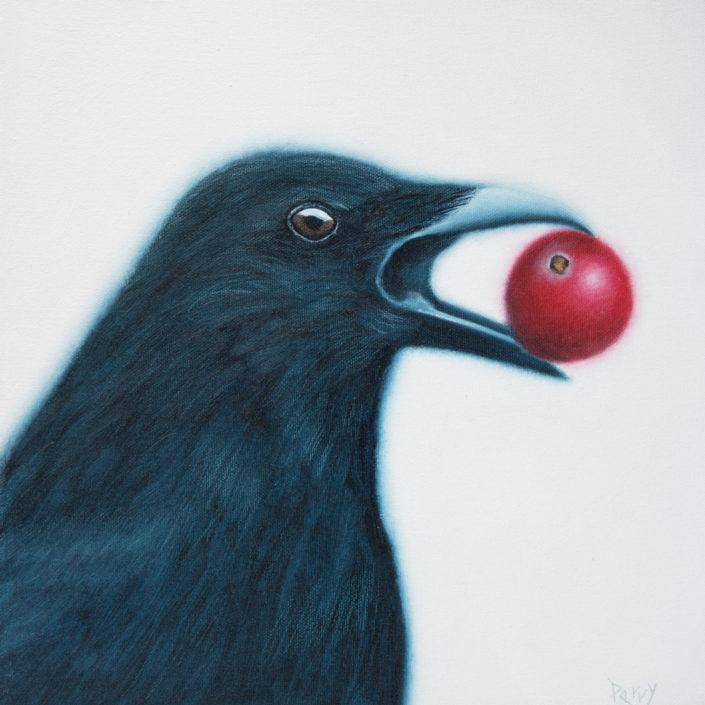 tephen perry artist crow