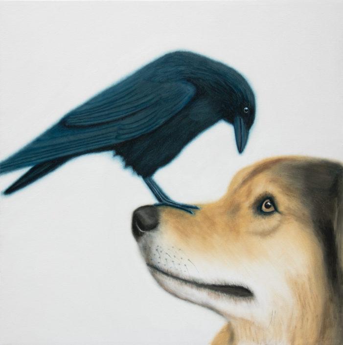 tephen perry artist crow dog