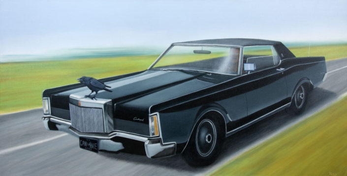 stephen perry artist lincoln continental 1971--OAG- Ottawa Art Gallery
