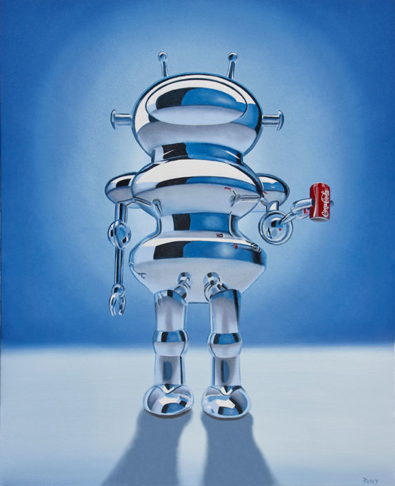 stephen perry artist coke robot