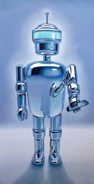 stephen perry artist phone robot