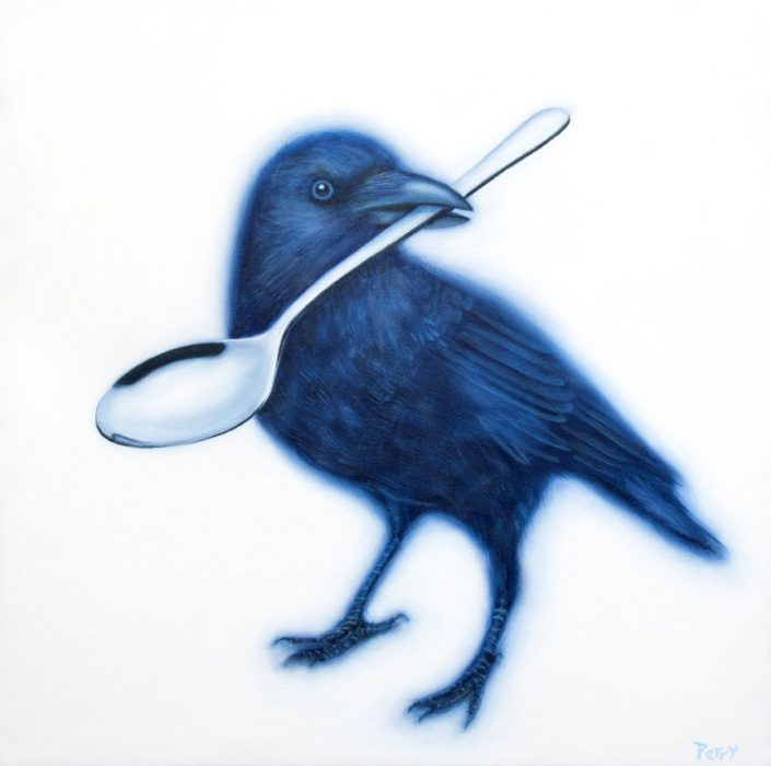 stephen perry artist crow spoon