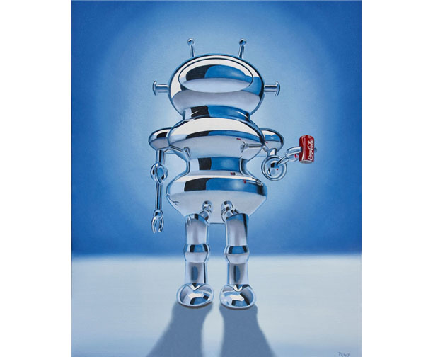 stephen perry artist coke robot