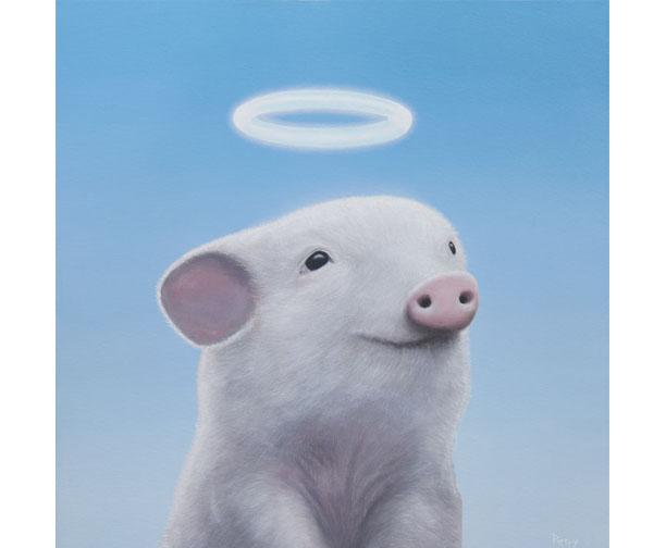 stephen perry artist, pig